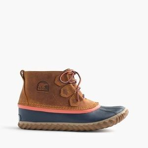 NEW Sorel for J. Crew Out N About Duck Boots Sz 5